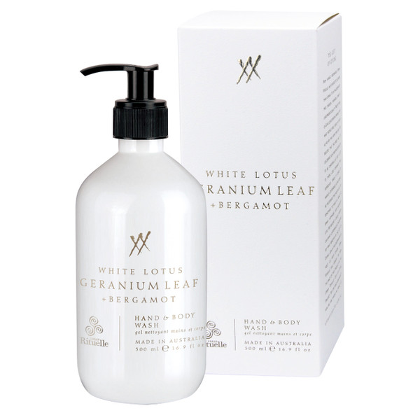 Alchemy - White Lotus, Geranium Leaf & Bergamot - Hand & Body Wash - Urban Rituelle