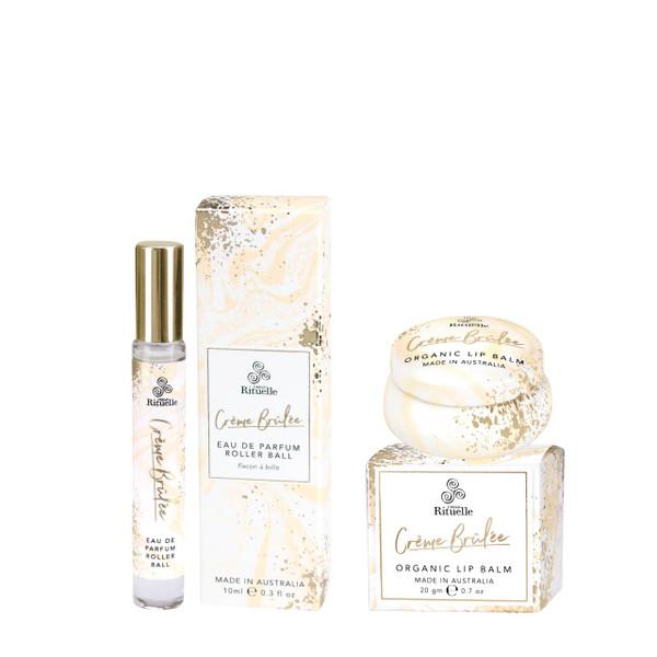 Sweet Treats - Creme Brulee Parfum + Lip Balm Bundle