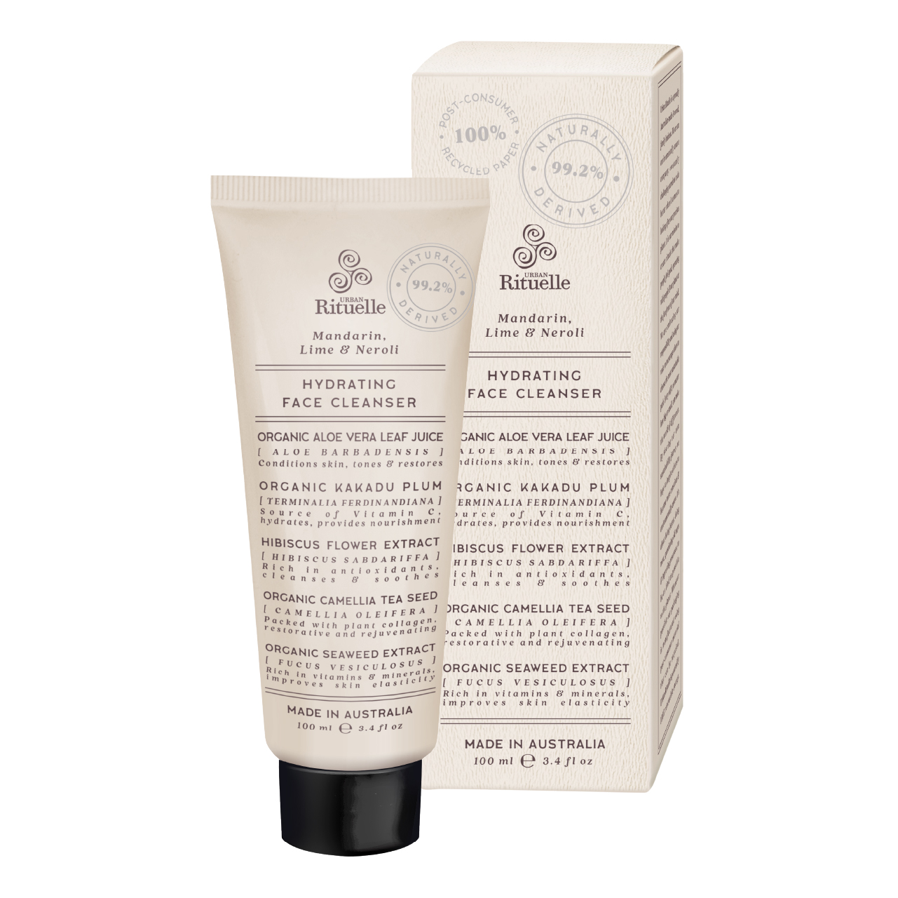 Natural Remedy - Hydrating Face Cleanser