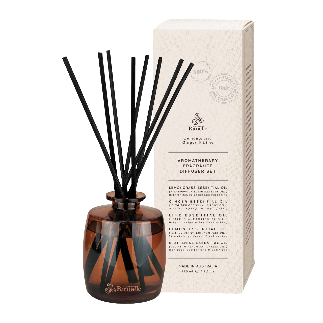 Natural Remedy - Aromatherapy Fragrance Diffuser Set