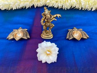Brass Dancing Ganesha