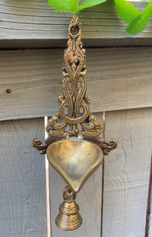 Peacock Hanging Lamp With 1 Bell