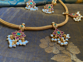 Beautiful & Simple Temple Necklace sets