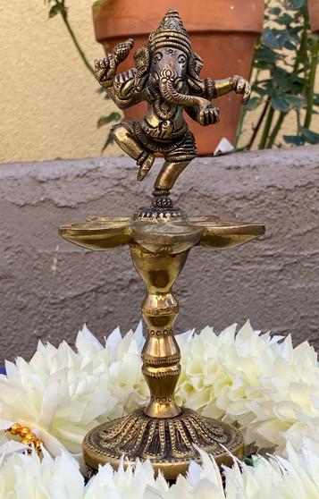 Dancing Ganesha Lamp