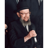 8x10 Picture — Rabbi Miller with Microphone