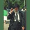8x10 Picture — Rabbi Miller Waving