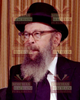 8x10 Picture — Rabbi Miller Seated
