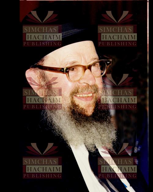 8x10 Picture — Rabbi Miller Smile 2