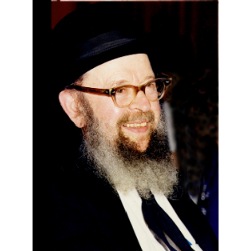 8x10 Picture — Rabbi Miller Smile 2
