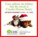 Cascades Humane Society MI dogs and cats getting Kuranda beds for Christmas