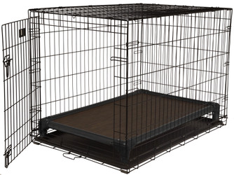 Black Aluminum Crate Bed