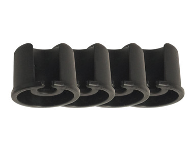 Set of 4 Round Caps for bottom of Aluminum leg