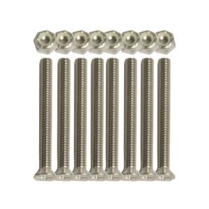 Screws & Nut Set for the Standard PVC Bed