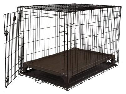 Walnut PVC Crate Bed