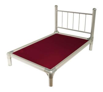 Silver Aluminum Suite Bed
