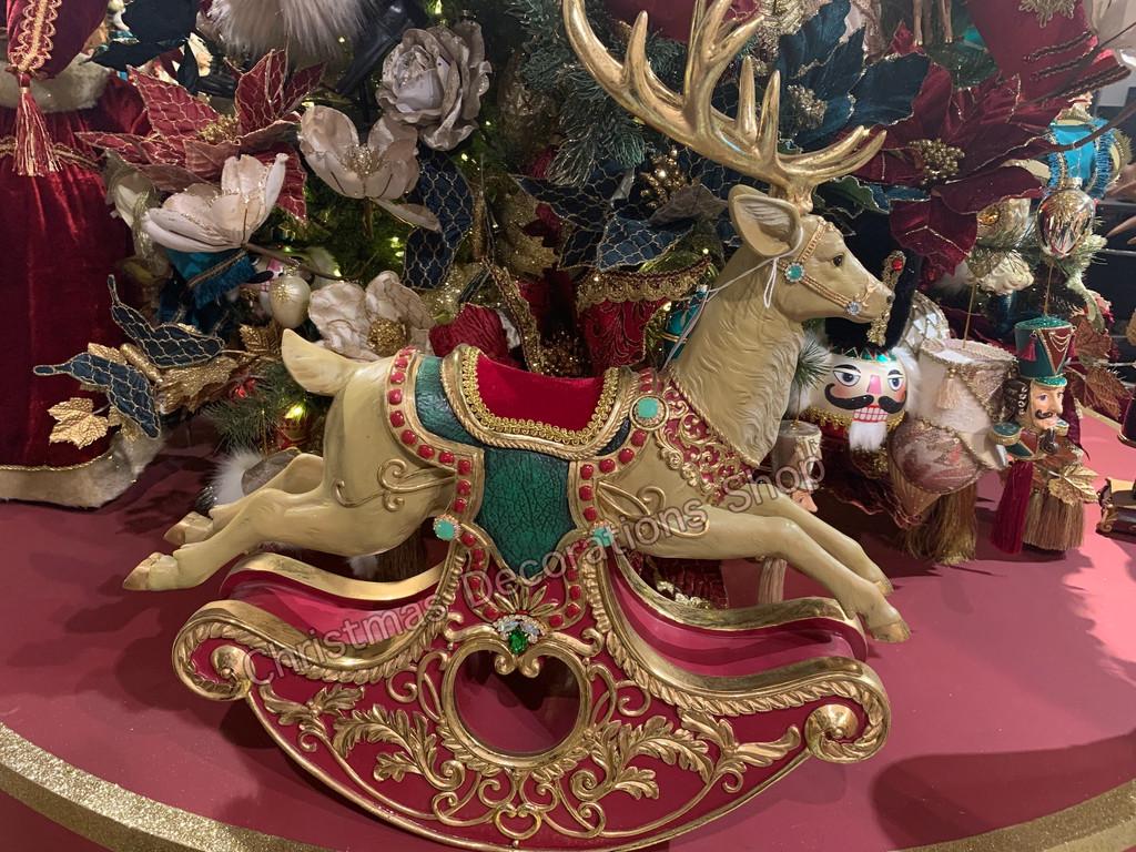 Goodwill 2021 Rocking Deer Christmas Display