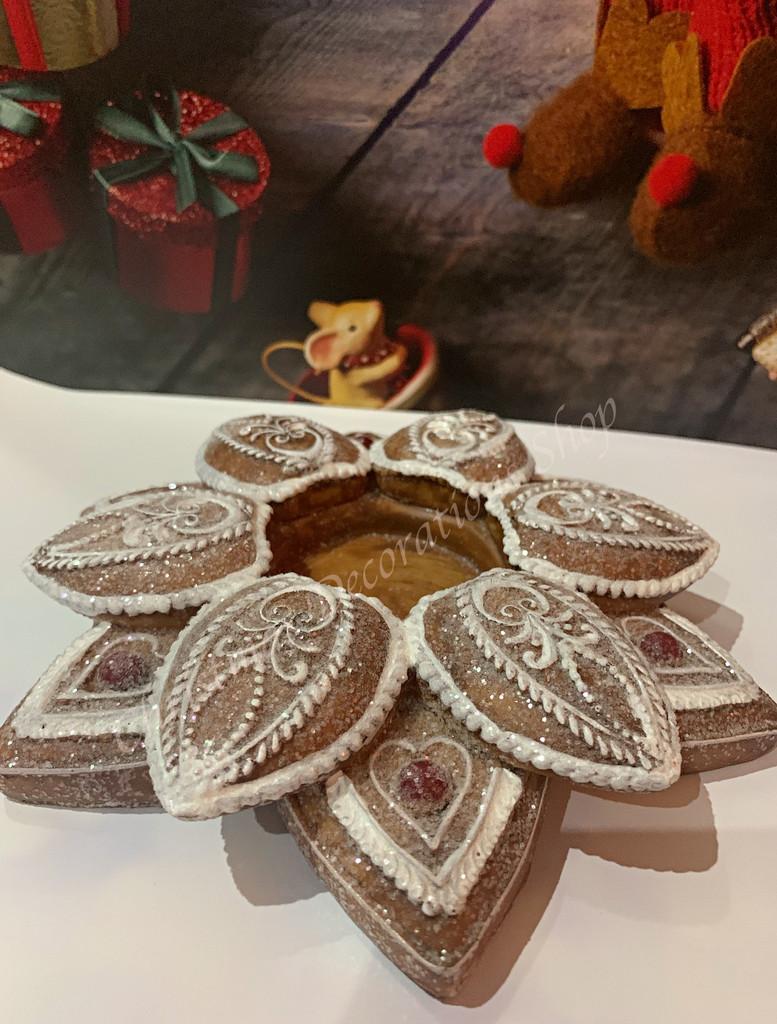Gingerbread Christmas Tea Light