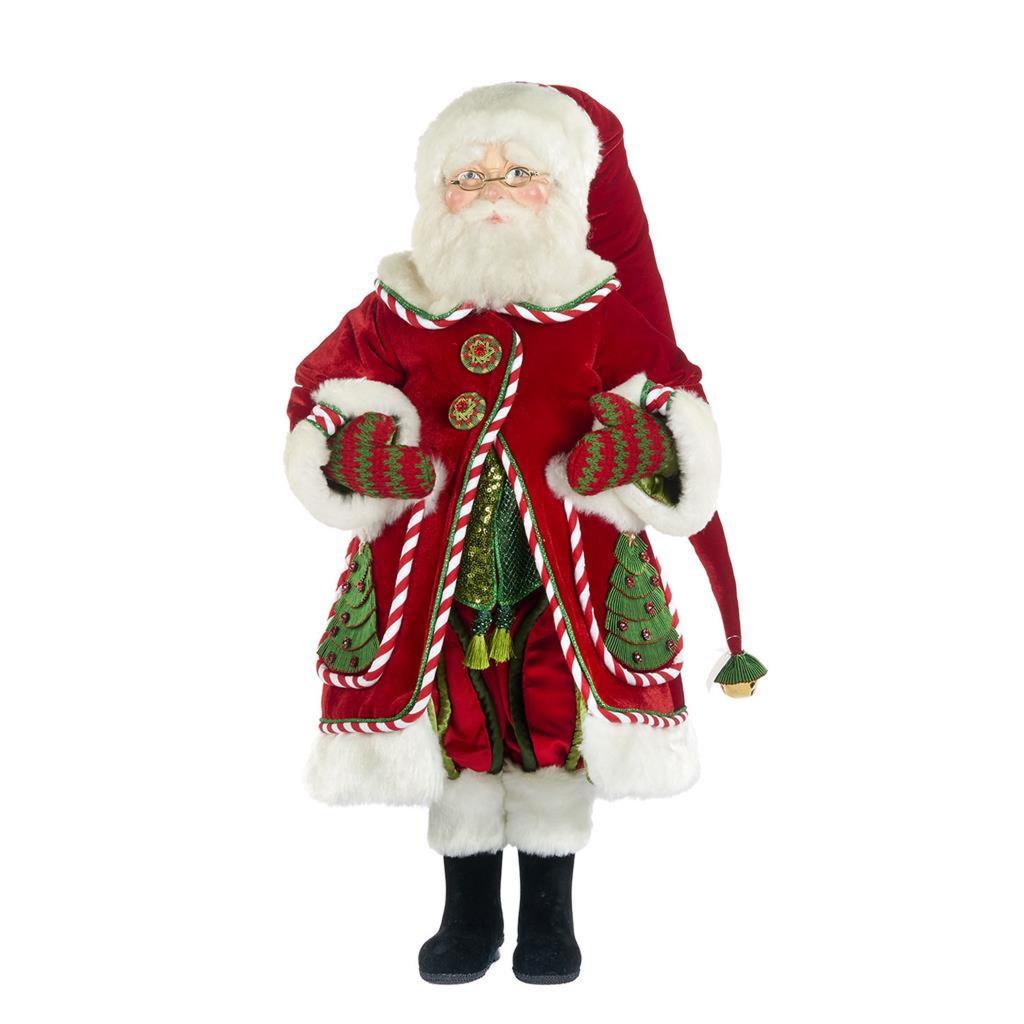 "Night Before Christmas Santa Doll 24"""