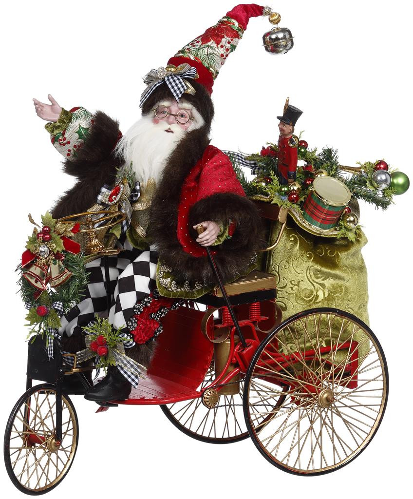 Mark Roberts Jolly Old Santa Mobile Display