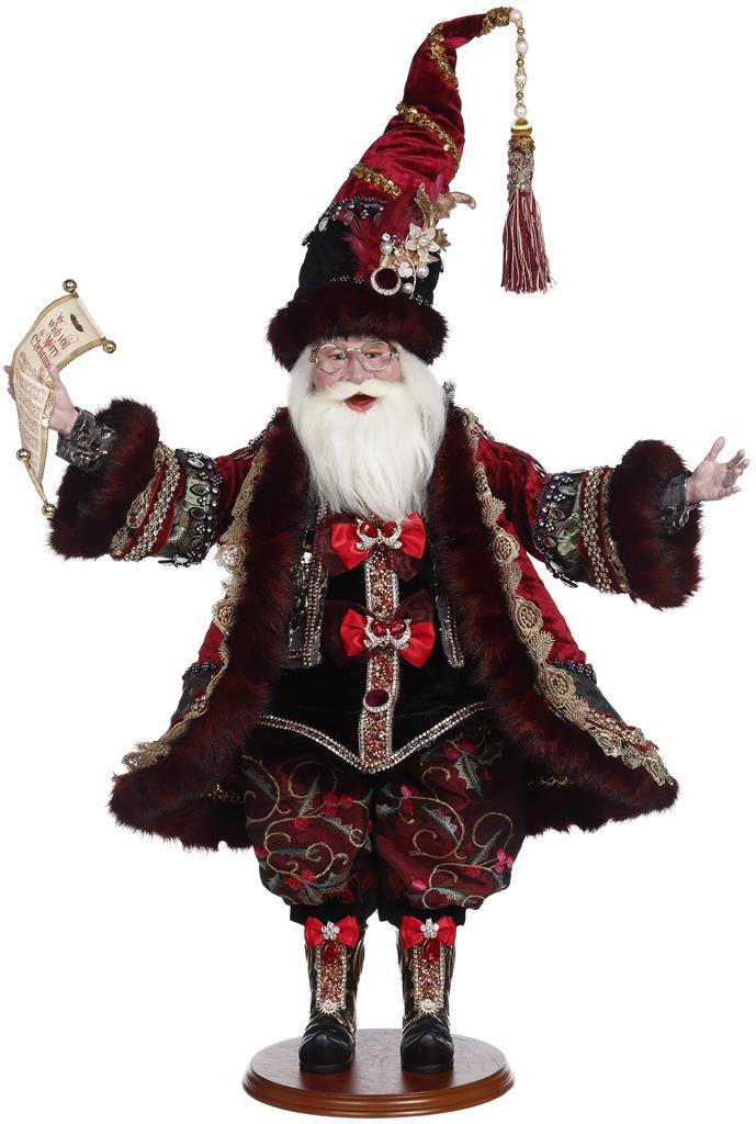 Mark Roberts Christmas 2021 Carol Santa Doll 58CM