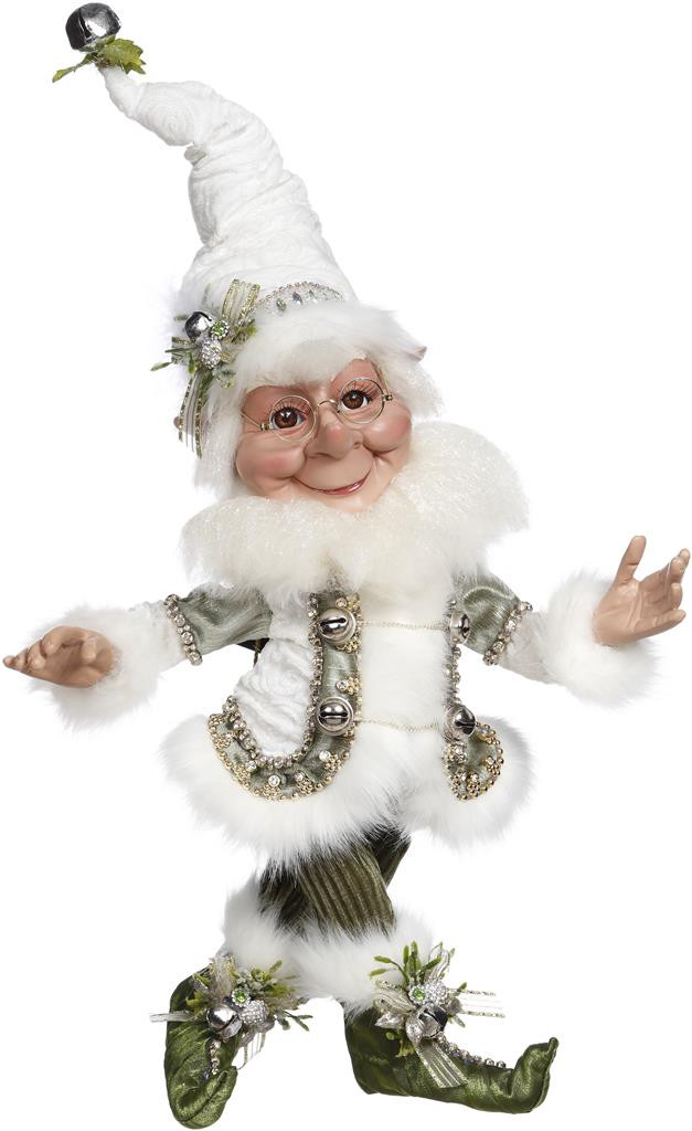 Mark Roberts Bundled Snow Elf GRN/WH 44CM