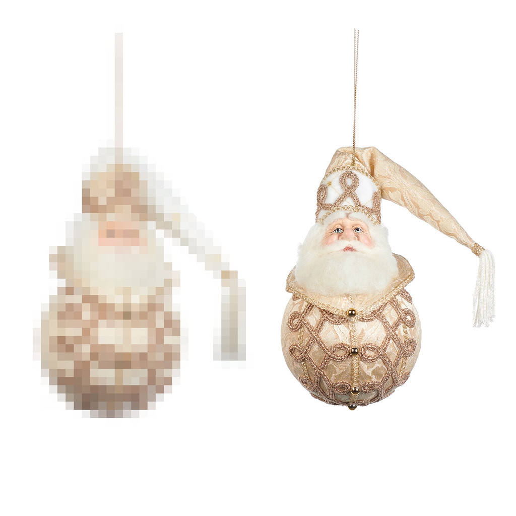 Goodwill 2021 Once Upon Santa Bauble CRM/WH 21CM