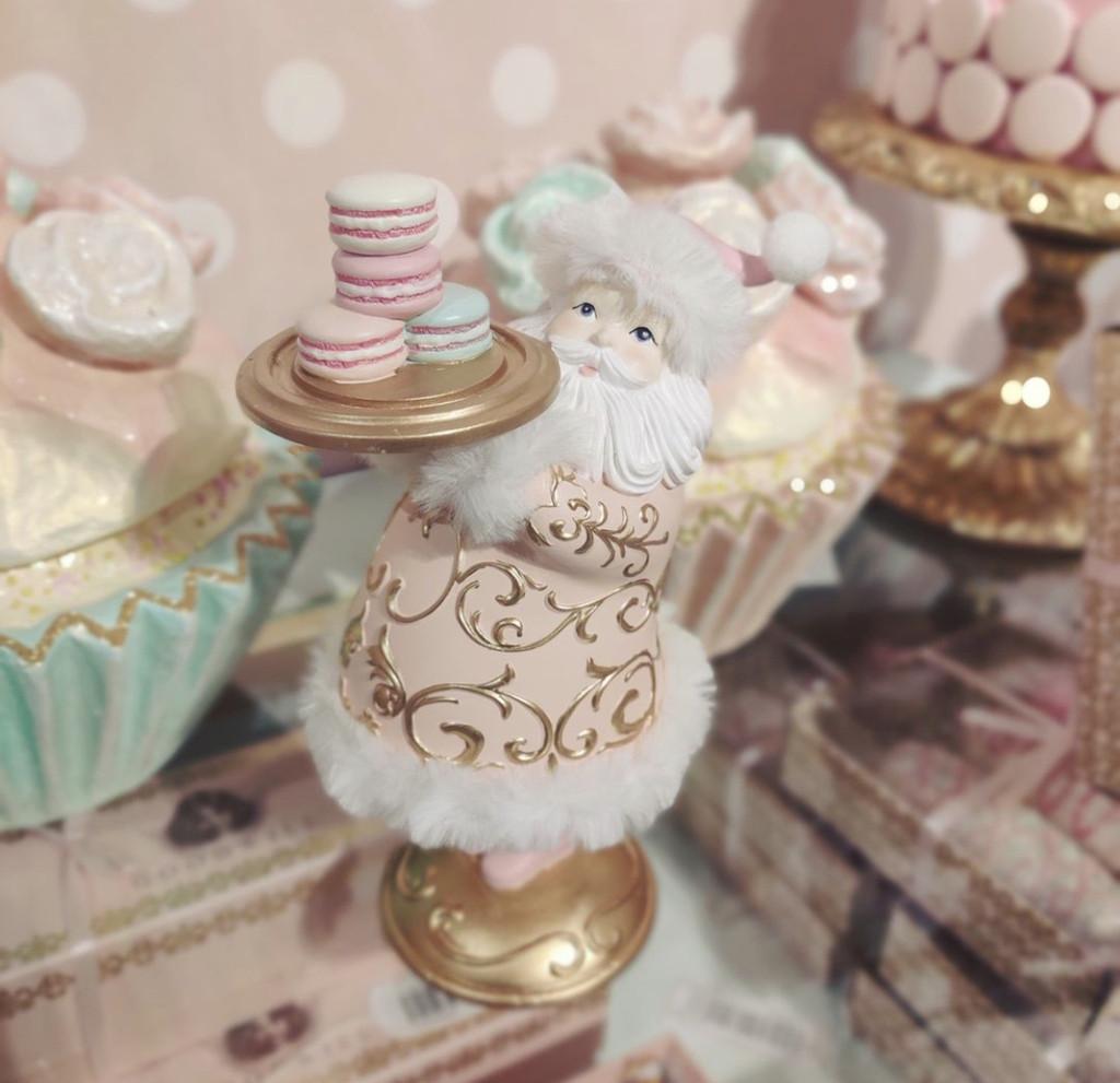 Goodwill 2021 Candy Macaroon Santa Display
