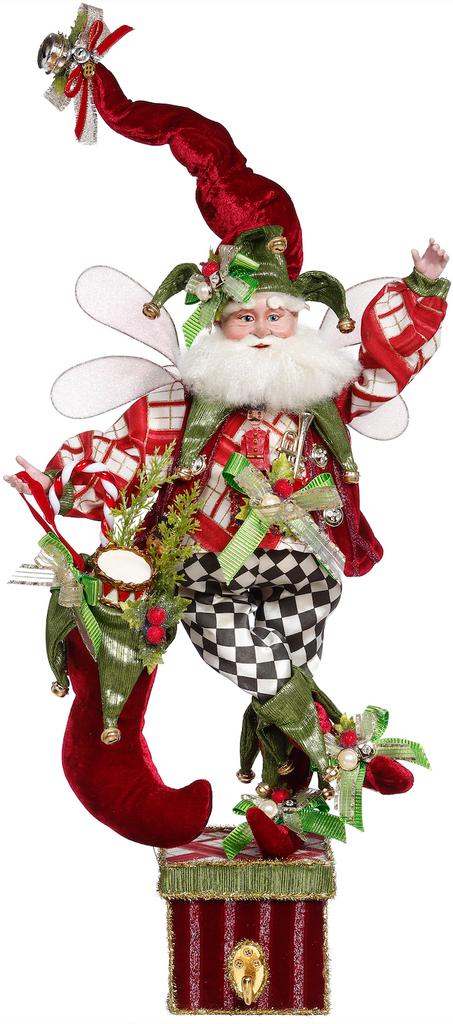 Mark Roberts 2021 Christmas Stocking Santa Fairy
