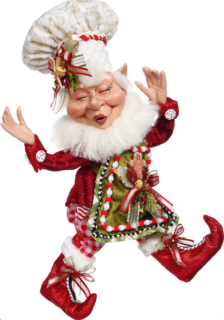 Mark Roberts 2021 Gingerbread Spice Elf Doll