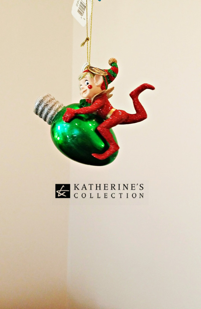 Katherine's Collection Christmas Elf Tree Decoration