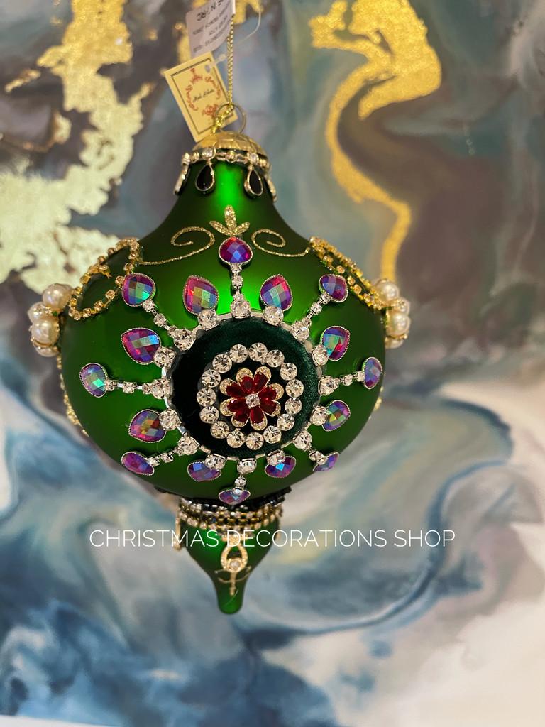 Handmade Glass Christmas Bauble