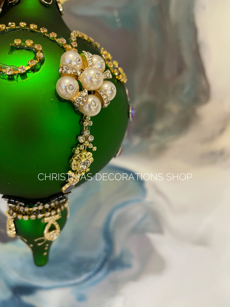 Mark Roberts 2021 Kings Crystal Bauble Tree Ornament