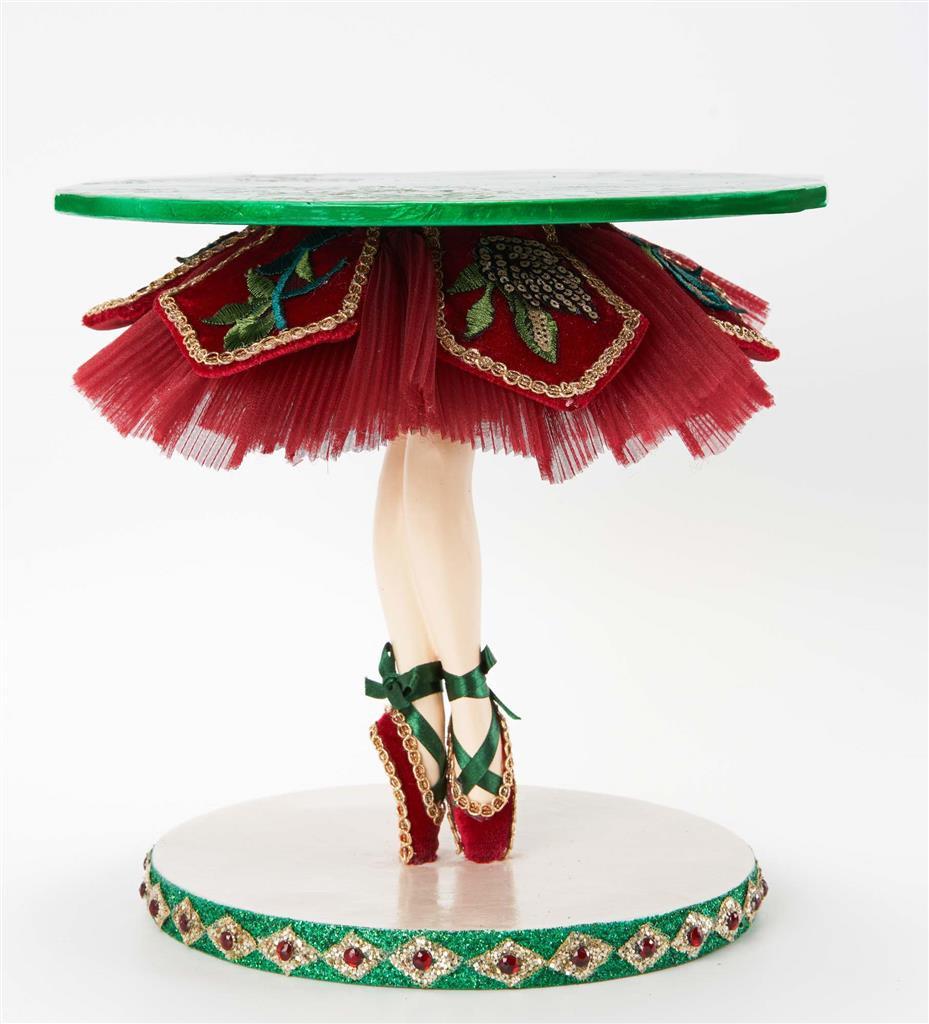 Katherine's Collection 2021 TipToe Ballerina Cake Stand Display