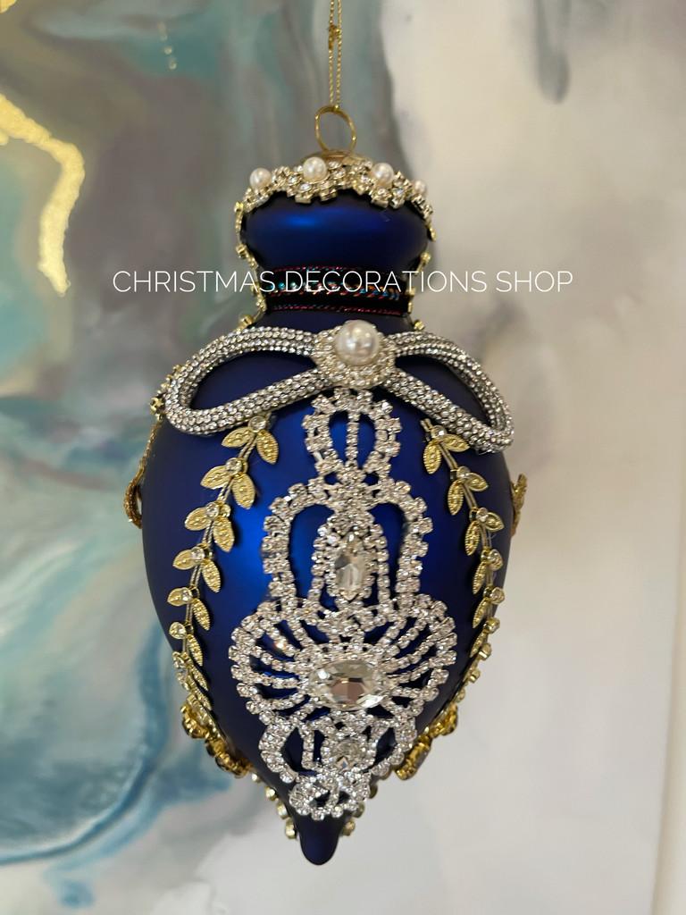 Mark Roberts Christmas Tree Jewel Kings Bauble