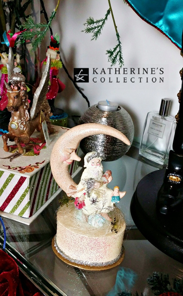 Katherine's Collection Santa Trinket Box