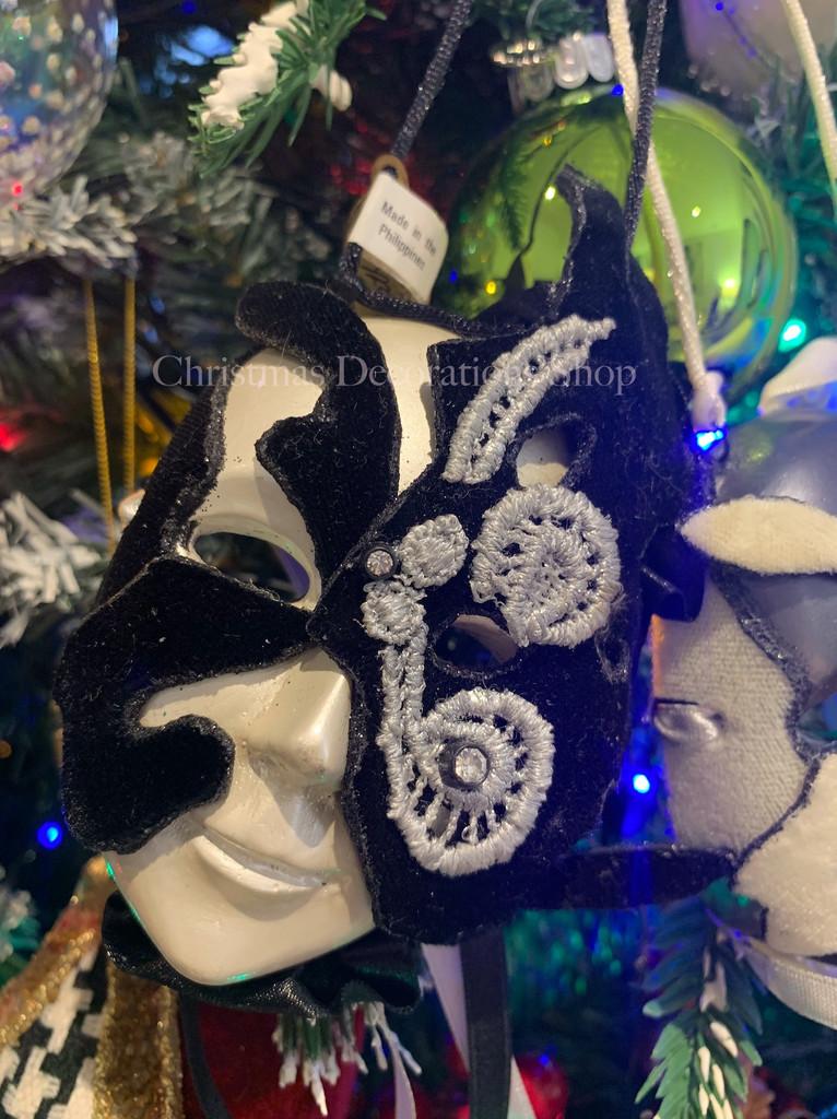 Katherine's Collection Butterfly Mask Tree Decoration Set