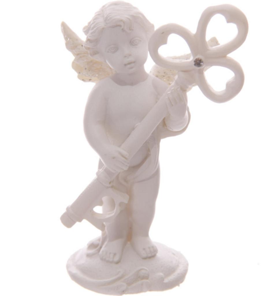 Cherub Key Ornament