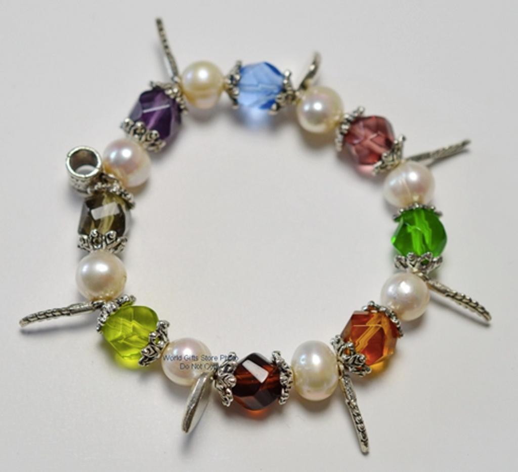 Ladies Jewellery Pearl and Bead Bracelet