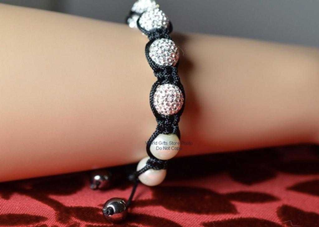 Crystal Ball Bracelet