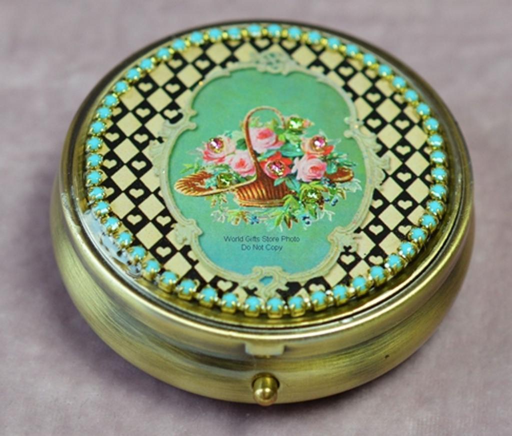 Michal Negin Pill Box Swarovski Crystal Perfect Gift This Season