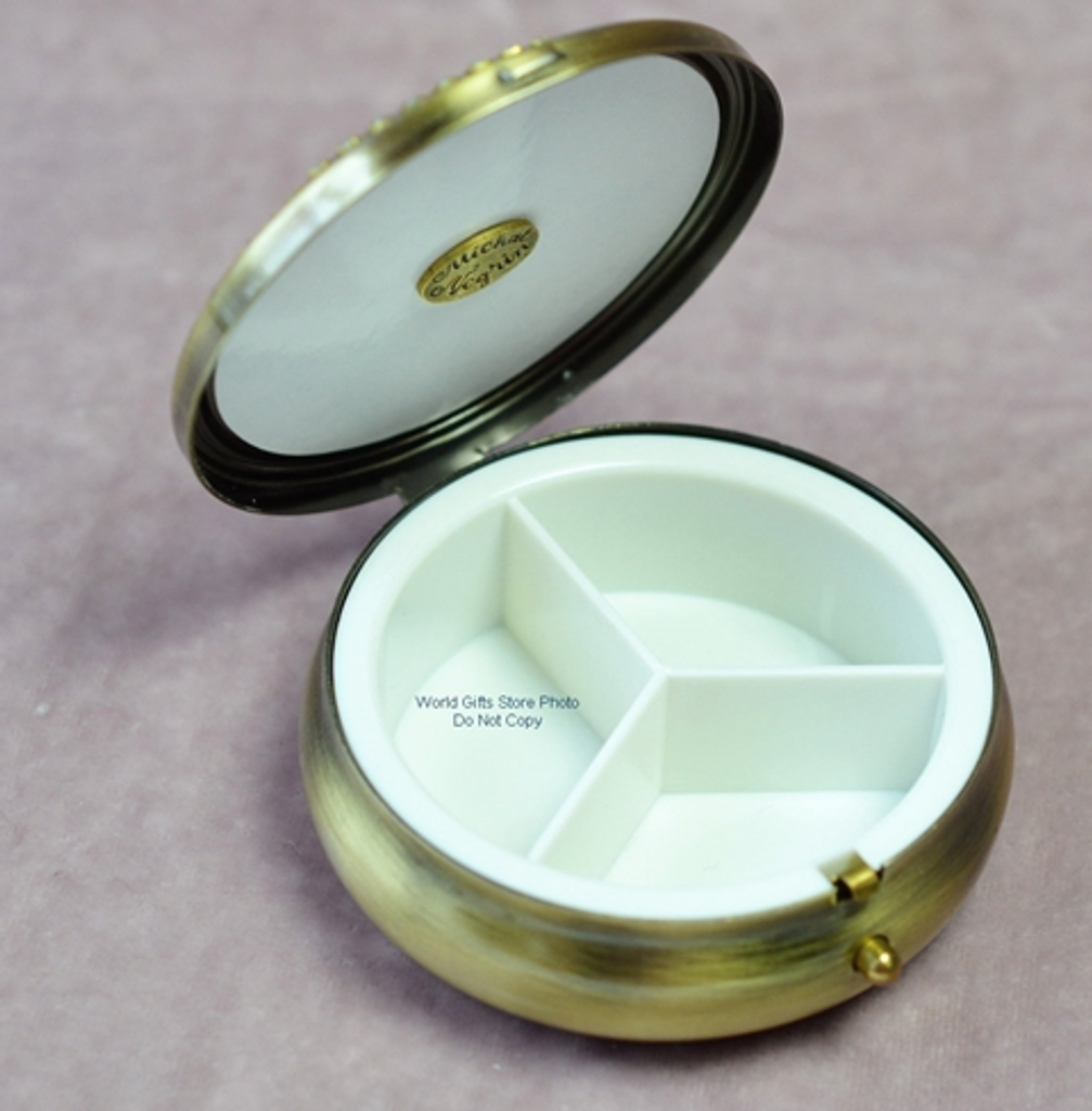 Michal Negrin Pill Box Swarovski Crystal
