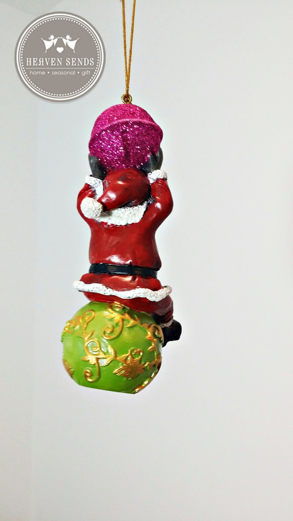Christmas Tree Decoration Santa
