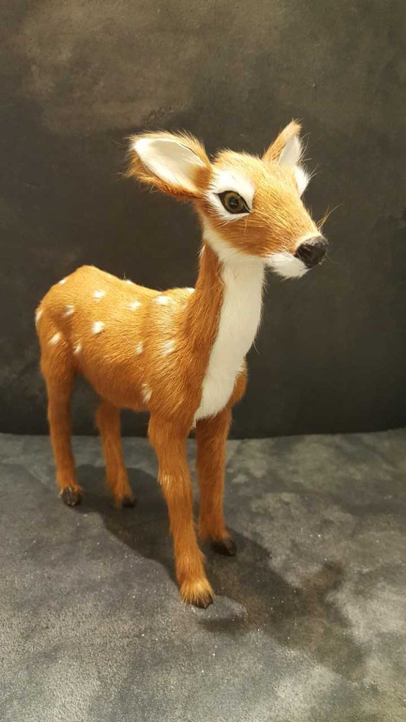 Bambi Christmas Table Display