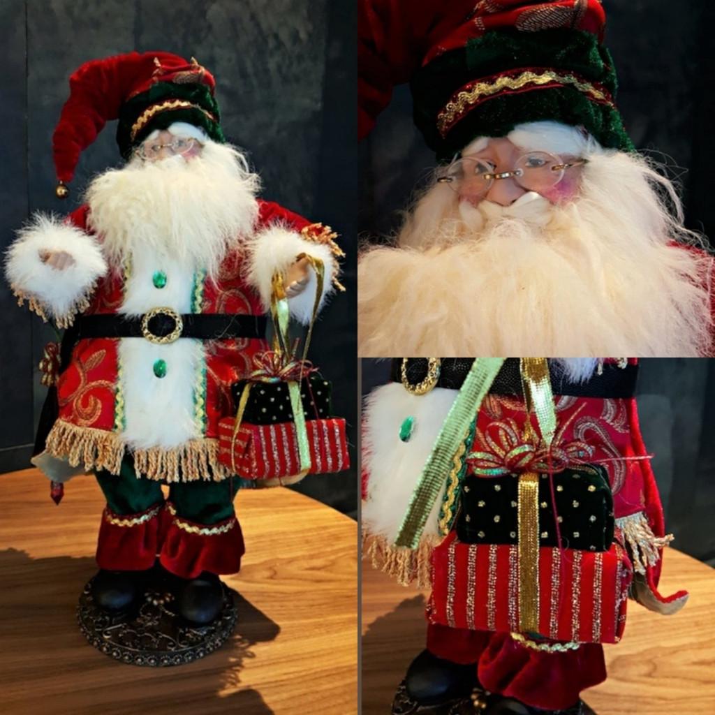 Christmas Santa Doll With Gifts.