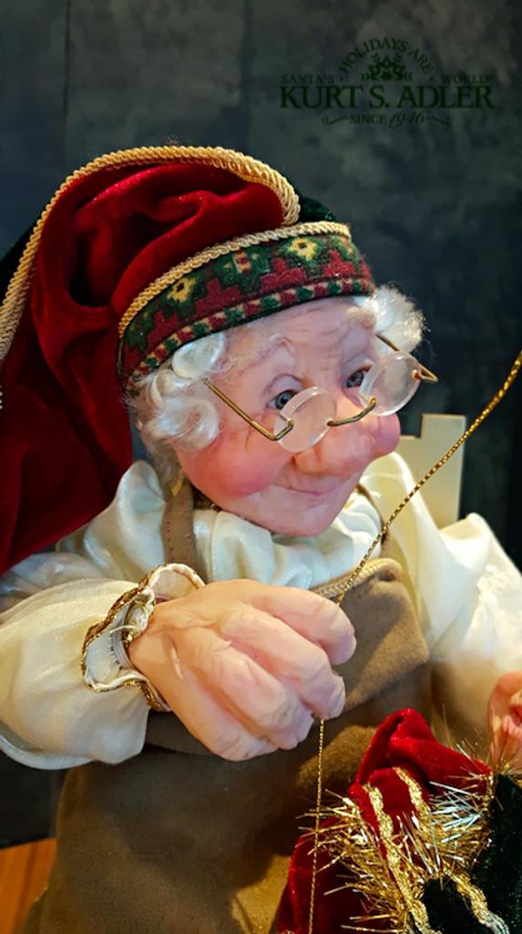 Life Like Display Christmas Doll