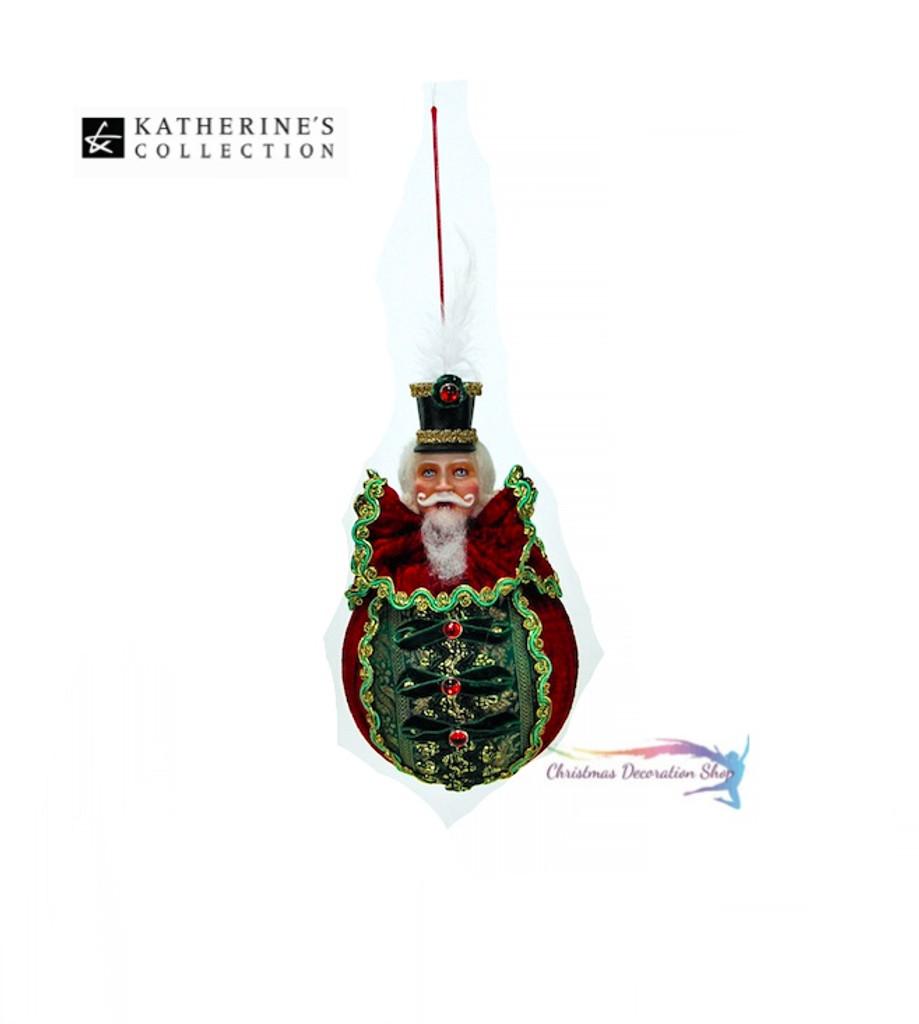 Katherine's Collection Nutcracker Tree Bauble Display