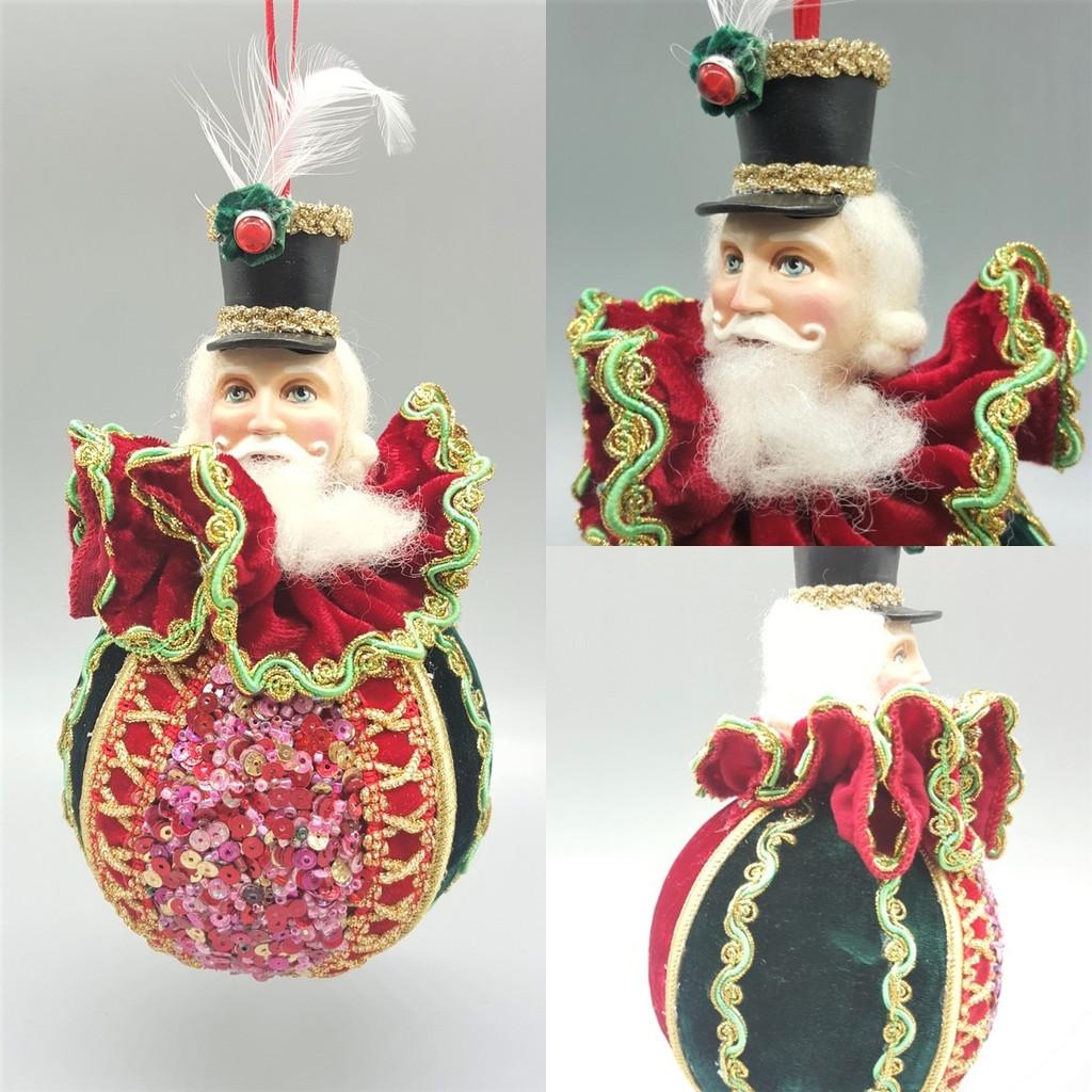 Katherine's Collection Lavish Nutcracker Christmas Tree Bauble
