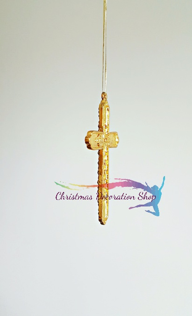 Bejewelled Cross Decoration Display