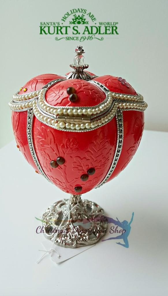 Kurt's Adler Polonaise Faberge Egg Trinket