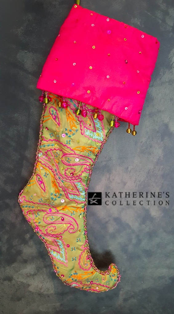 Katherine's Collection Nutcracker Candy Stocking